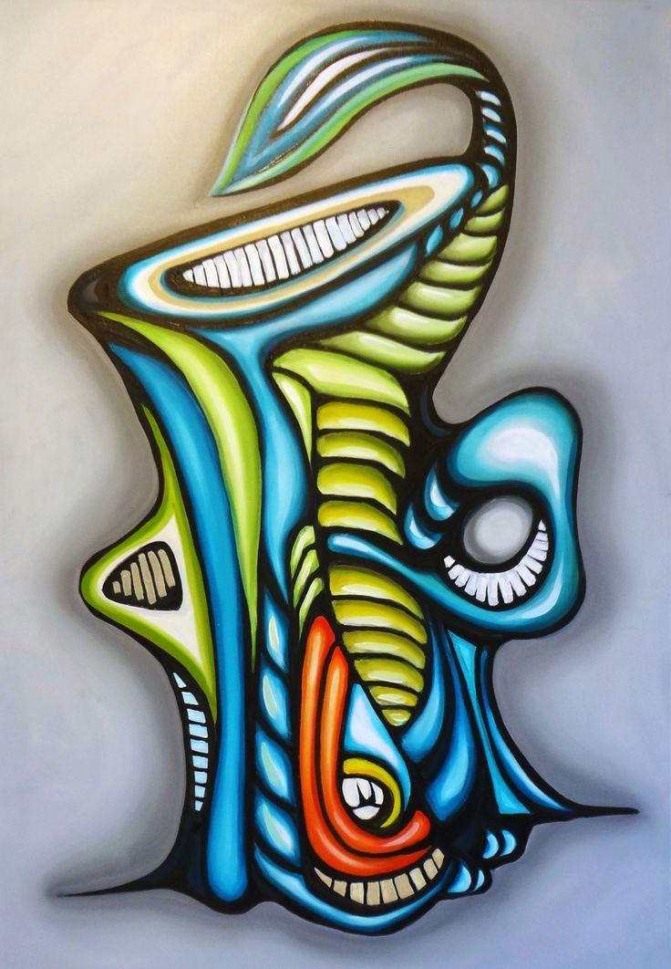 """Cultivating Joy,"" by RJ Starr, columnist for Garden Spices Magazine.  Artwork courtesy of the Art of Pepe Villegas."