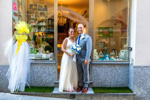 wedding boutique Arona - lake Maggiore