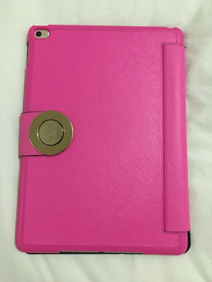 Ipad air 2 with pink kate spade case