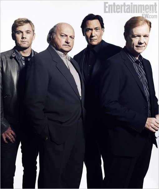 Cast Reunions 2012: Ricky Schroder, Dennis Franz, Jimmy Smits, and David Caruso, NYPD Blue