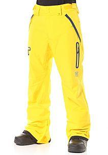 NITRO Brighton - Pantalón de snowboard para Hombres - Amarillo