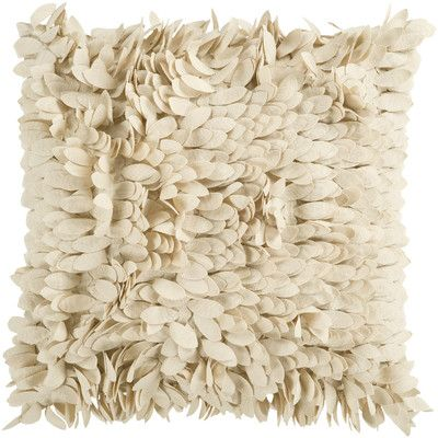 Shop AllModern for House of Hampton Luanna Ruffle Synthetic Throw Pillow - Great Deals on all  products with the best selection to choose from!