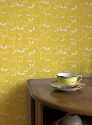 #wallpaper #yellow #yellow_wallpaper #udekorujdom #tapeta #żółta_tapeta