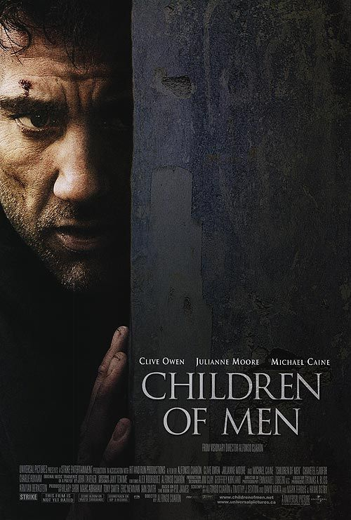 """Dystopian Movies   Children of Men Movie - """"Children of Men is an excellent piece of science fiction movie. Powerful and brooding, the film, based on the eponymous novel by P.D. James, revolves around a unique idea."""" >>>Read more here: http://www.explore-science-fiction-movies.com/children-of-men.html#ixzz2W6Nq4n3S"""