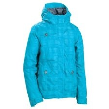 get discount for 686 Women's Reserved Luster Insulated Jacket Turquoise Jacket