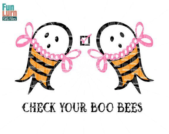Halloween SVG Breast Cancer Awareness SVG  Check by FunLurnSVG
