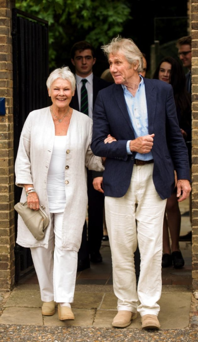 Judi Dench And Boyfriend - Google Search  What To Wear -5831