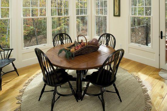 Breakfast Room of The Adelaide - House Plan Number 866-D  really like windows,doors,floor here