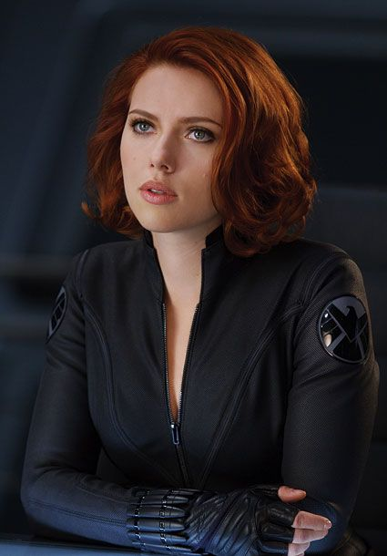 (Because who doesn't want to grow up and be Natasha Romanoff?)