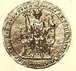 Richard von Cornwall – Richard war Sohn des englischen Königs Johann Ohneland und dessen Frau Isabella von Angoulême. Er war ein Neffe von Richard Löwenherz und Enkel von Eleonore von Aquitanien. Richard war dreimal verheiratet: zunächst 1231 mit Isabella von Pembroke († 1240), dann 1243 mit Sancha von der Provence († 1261) und schließlich 1269 mit Beatrix von Falkenburg († 1277).  Als jüngerer Bruder des englischen Königs Heinrich III. sammelte er frühzeitig militärische Erfahrung bei einer…
