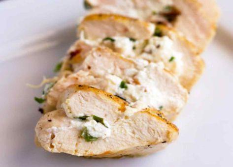 Exquisita Receta de Pollo Relleno con Queso, un crocante resultado con una receta muy fácil y con poco tiempo de preparación.