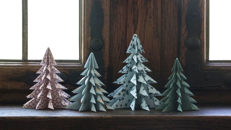 DIY: Christmas trees by Søstrene Grene // Home decoration