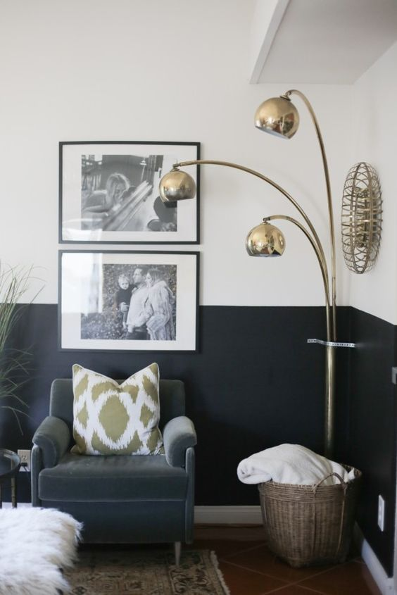 Best 25 Half Painted Walls Ideas On Pinterest Black And