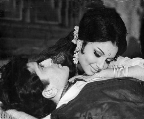 #sharmila Tagore and Rajesh Khanna