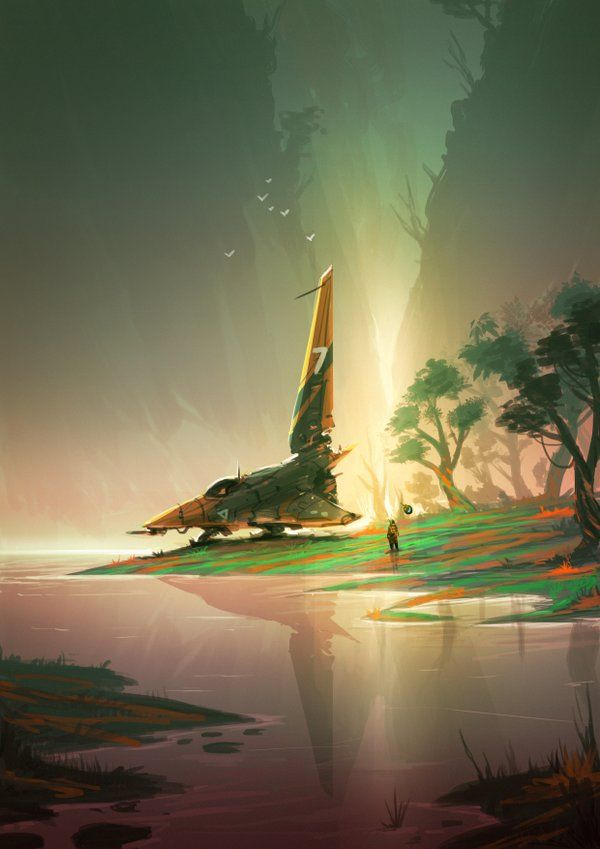 no man's sky concept art - Google Search