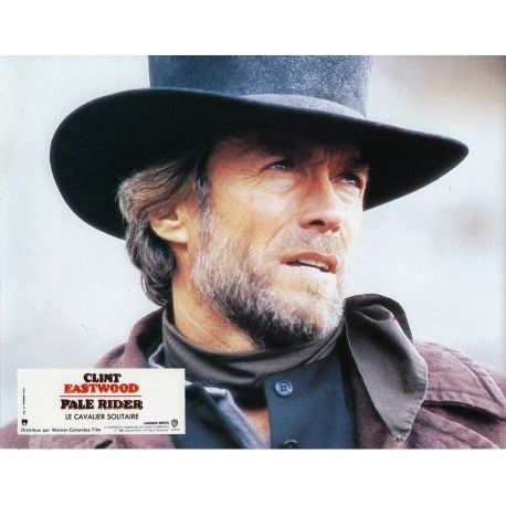 PALE RIDER Photo de film N4 21x30 cm - 1985 - , Clint Eastwood