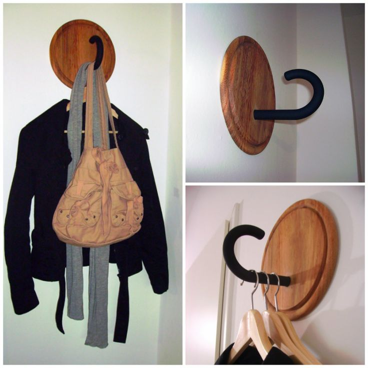 DIY Unique Coat Hanger