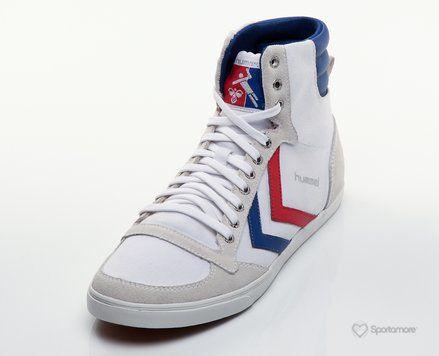 Hummel Slimmer Stadil High Hummel REA Sneakers Streetwear Skor Höga Sneakers
