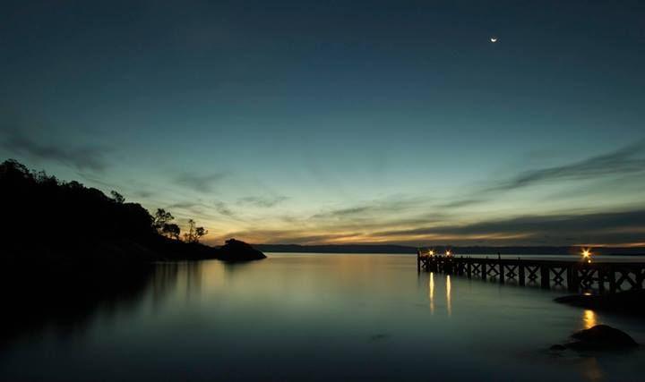 Sunset on the Freycinet Peninsula