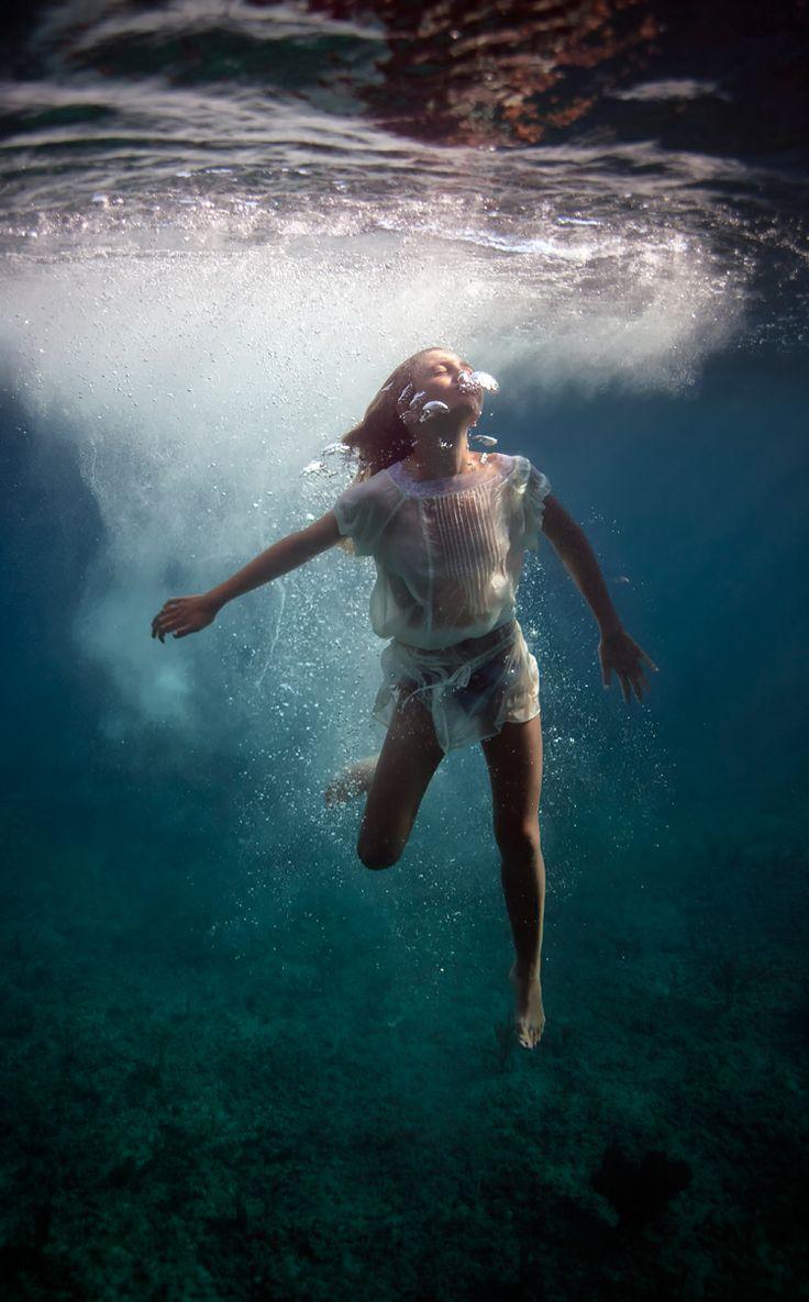 """Breathe"" Underwater Photography By Elena Kalis, Bahamas"