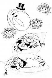 Výsledek obrázku pro křemílek a vochomůrka omalovánky