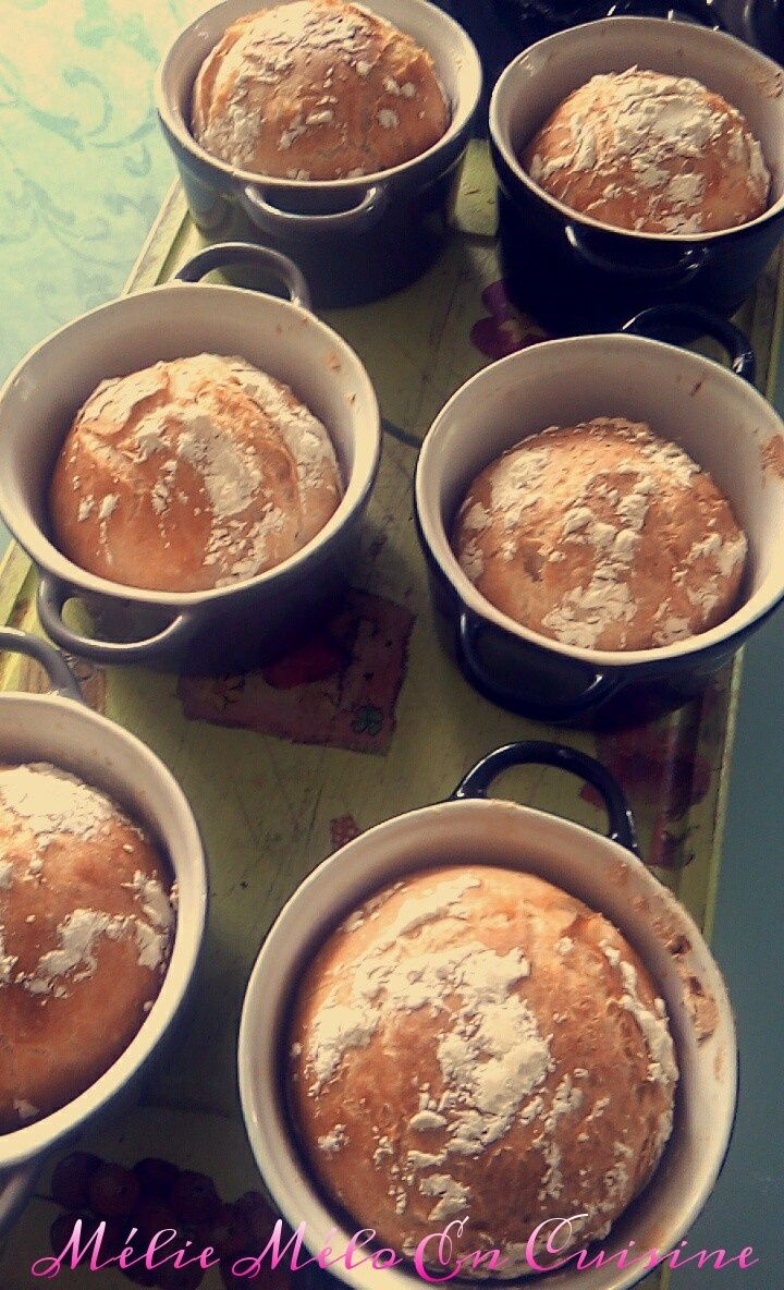 pain cocotte ( avec ou sans thermomix )