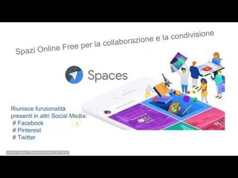 Come usare Google Spaces nella didattica - YouTube