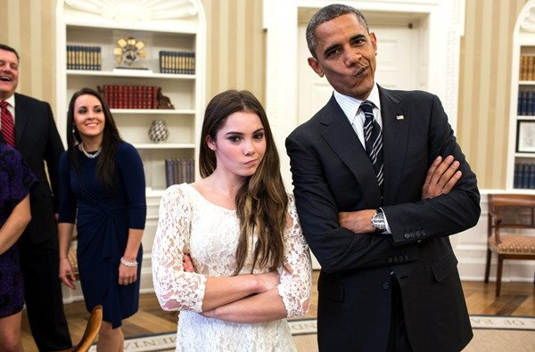 McKayla and President Obama are not impressed.