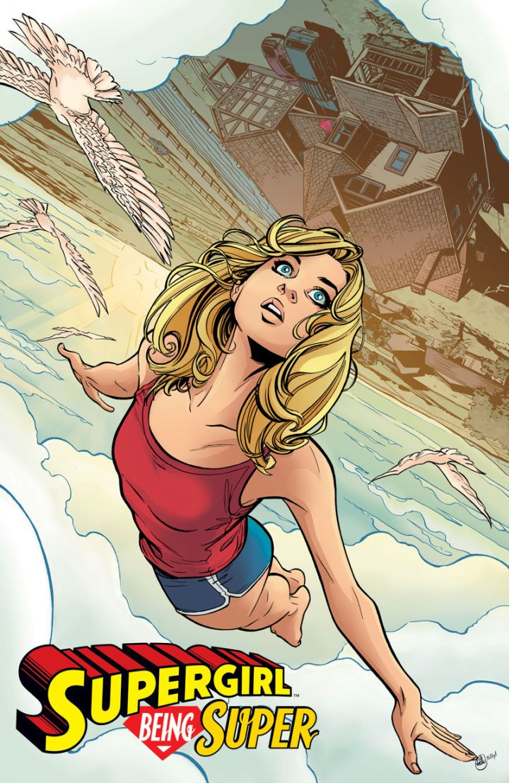 New DC Comic to Explore Supergirl's Origin  Today DC announced a new comic book mini-series called Supergirl: Being Super that will reexamine the origin story of Kara Zor-El.  Being Super is similar to last year's Superman: American Alien in that it's an out-of-continuity story that explores Supergirl's formative years. This four-issue series will be written by Mariko Tamaki (This One Summer) and drawn by the newly DC-exclusive Joelle Jones (Ladykillers).   Art by Joelle Jones. DC…