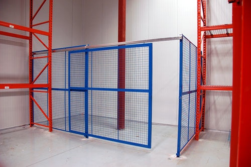 Check out more warehouse security frncing systems at http://www.store-rite.com/
