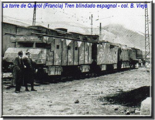 Spain - 1936-39. - GC - Los trenes blindados