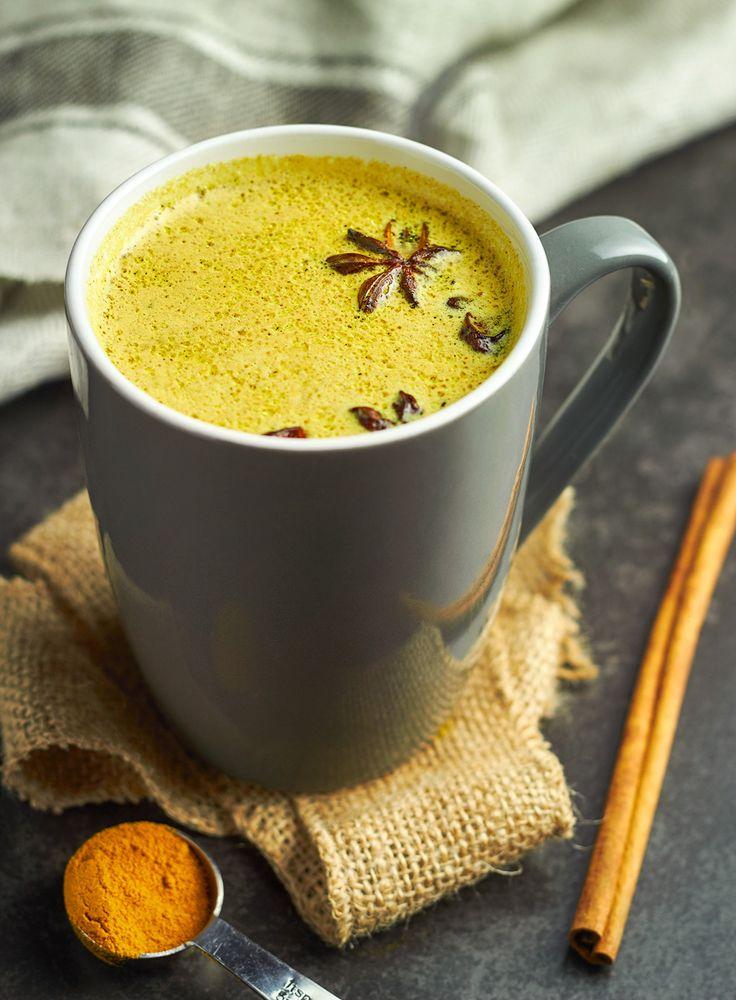 Golden TURMERIC Milk!  DELICIOUS & HEALTHY!!! YUM!