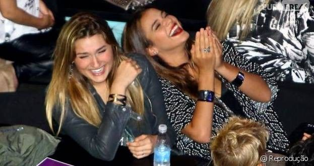 A atriz Bruna Marquezine embarcou com Sasha, filha de Xuxa Meneghel e Luciano Szafir, para curtir os...