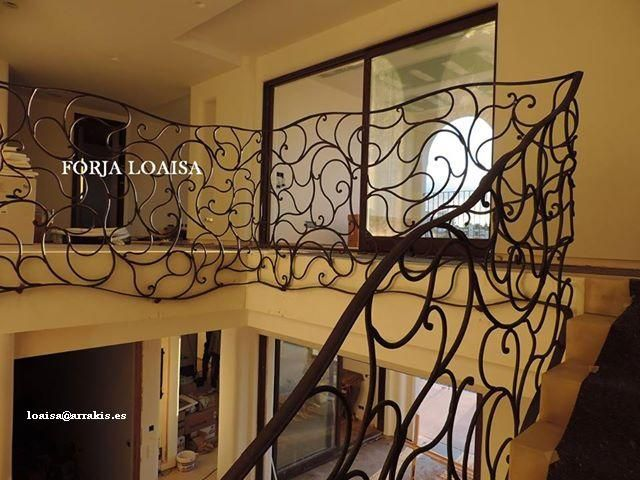 Photos Rampe d'escalier, à forger Loaisa.Fotos Pedro Loaisa .Porto Cristo.Mallorca