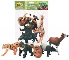 Rainforest Animals polybag Wild Republic   www.minizoo.com.au