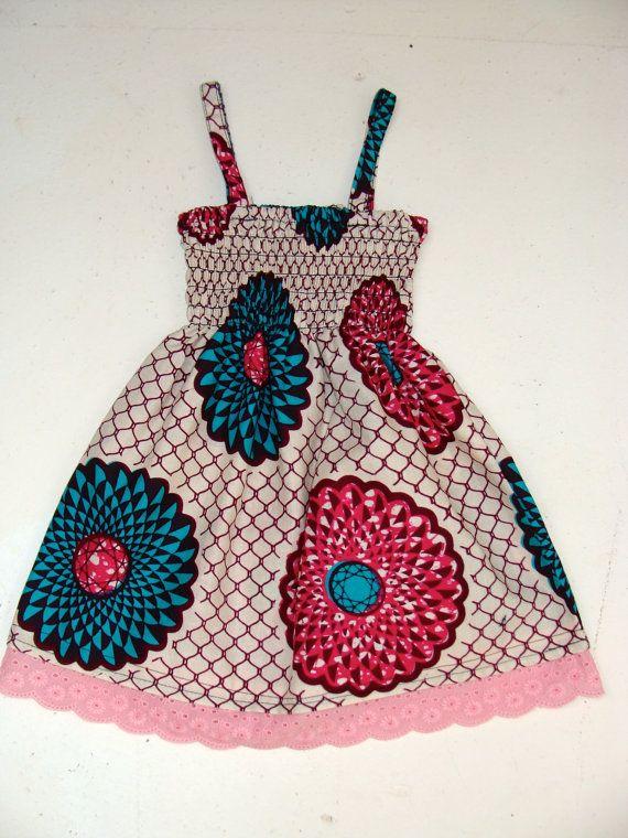 Assorted Infant/ Baby African Print Ankara Dress by dorisanddoris