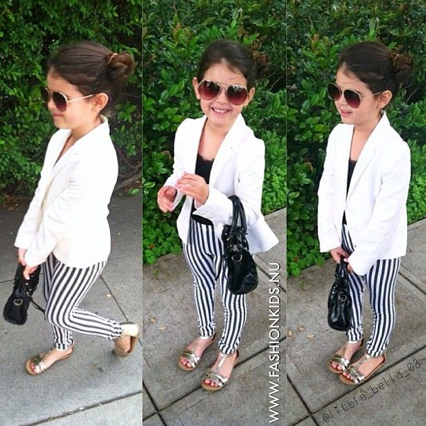 #kids #toddler #infant #baby #girl #fashion #style #inspiration #clothes #glam #chic #swag #shoes #black #white #gold #blazer