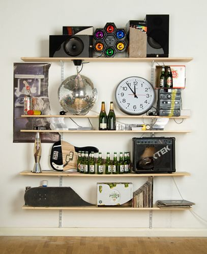 Great idea of the day: make art with bookcases | Offbeat Home