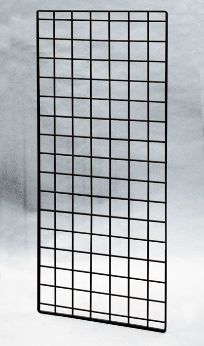 "(Black) 56"" X 24""-Double Wire-Grid Panel, 21-433, Grid And Slat Walls/Displays  $19.95"