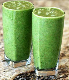 Koolhydraatarme Andijvie-Avocado smoothie  #smoothie #carbfree #Spinach #avocado