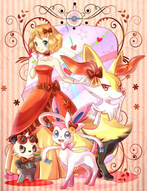 Taken from Konna-Nani's Artblog #PokémonXY #KalosQueen