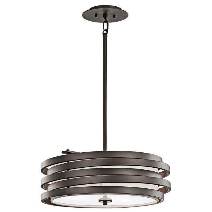 Shop kichler lighting 43301 3 light roswell large pendant at lowes canada find our selection of pendant lights at the lowest price guaranteed with price
