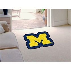 Michigan Wolverines Mascot Area Rug