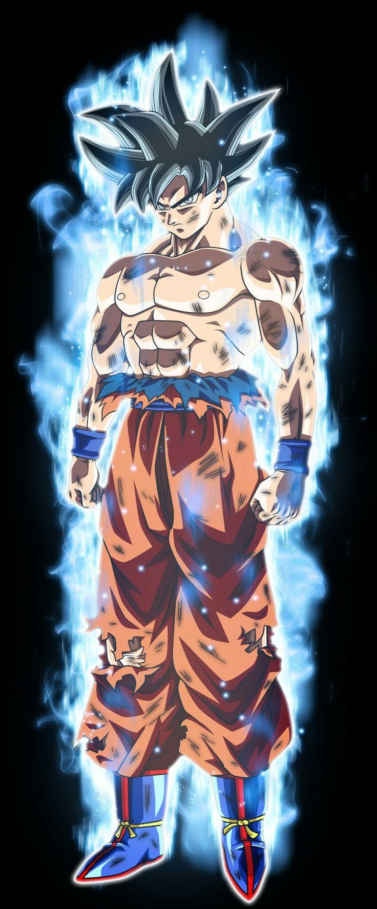 """LIMIT BREAKER seria o nome perfeito na minha opinião... Fala ai como vcs chamariam essa """"transformação"""" do Goku ou se jà tem um nome oficial me falem ai"""