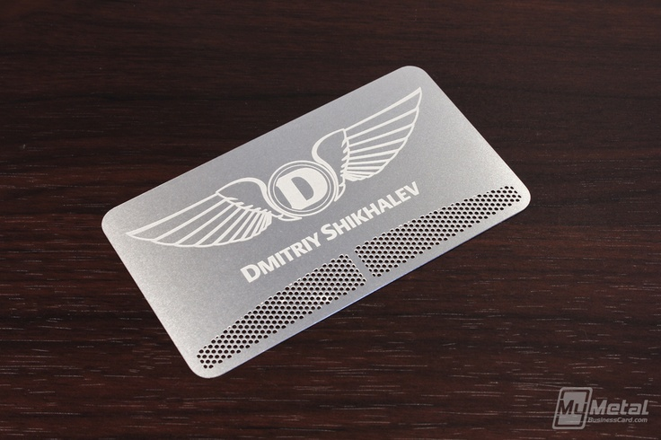 17 Best images about Stainless Steel Business Cards on
