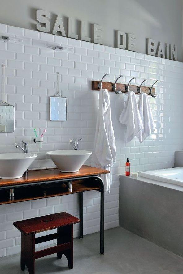 Salle de bains blanc : 20 photos déco très inspirantes