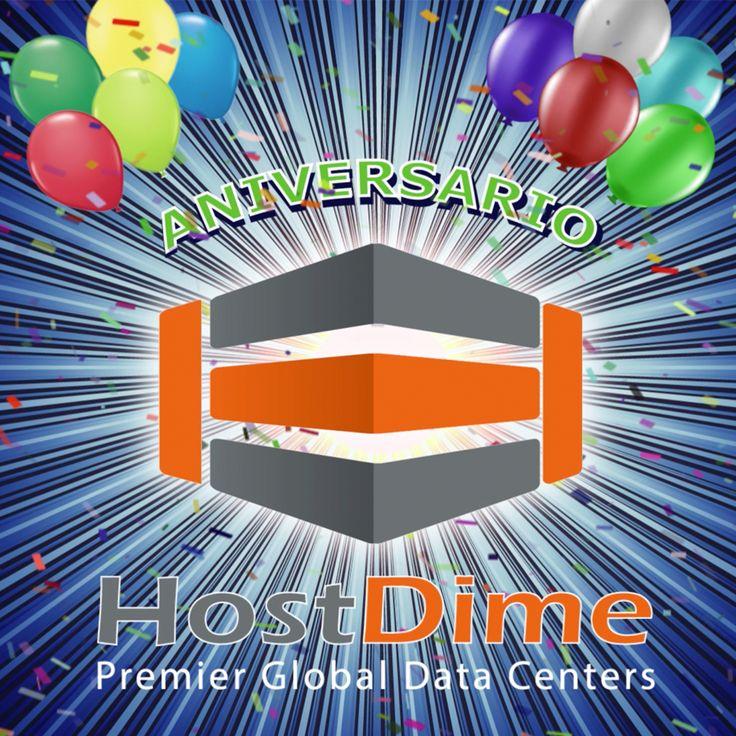 #Aniversario #HostDime, espéralo...