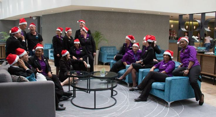 Lagoon Beach Hotel Employee's Celebrate the 2013 Festive Season