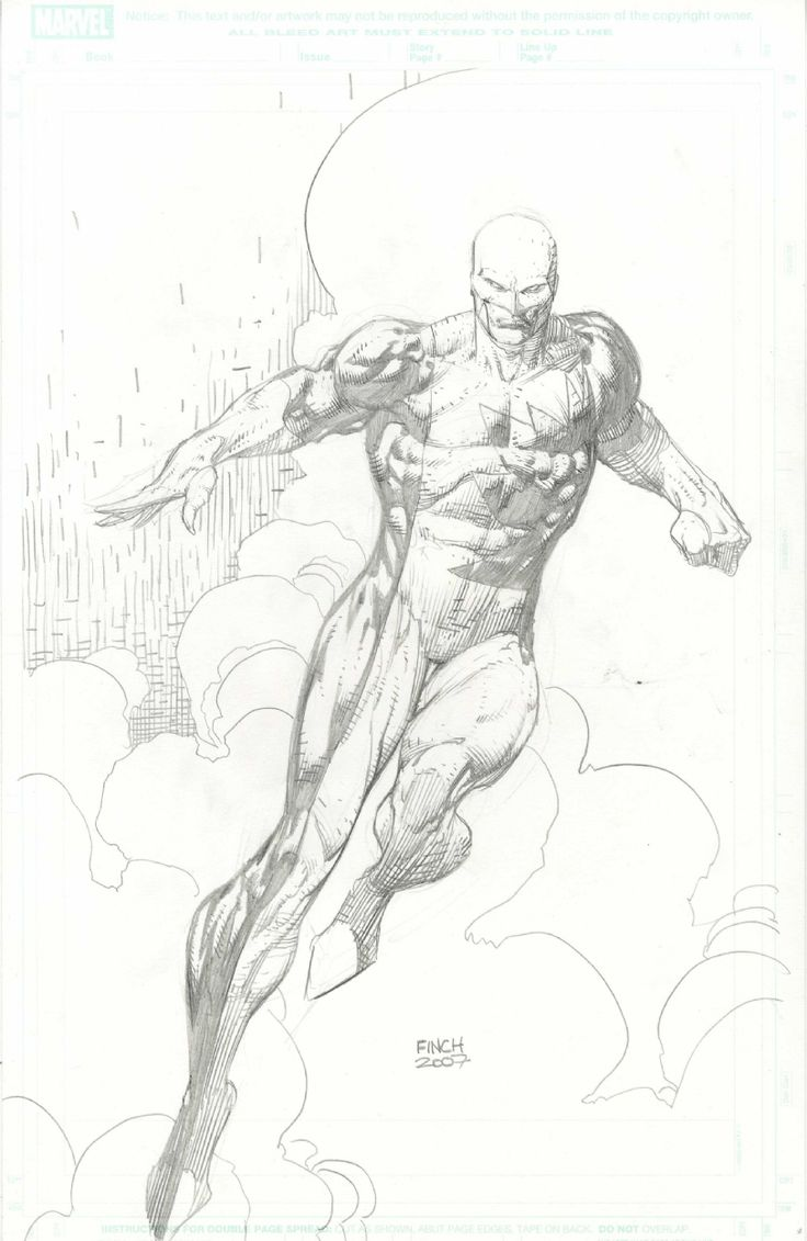 Vindicator by David Finch  Comic Art
