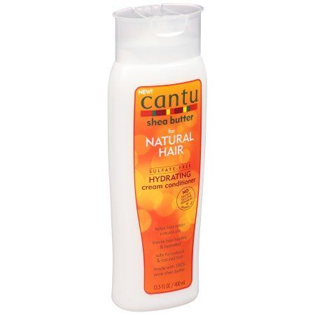 Cantu Shea Butter for Natural Hair Hydrating Cream Conditioner 13.5 fl. oz. Bottle, Beige